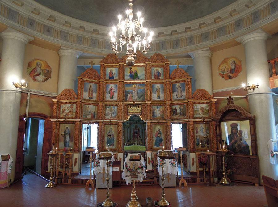 Іконостас Спасо-Преображенського храму